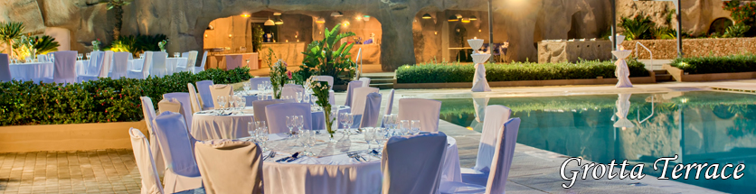 Weddings Grotta Terrace db Seabank